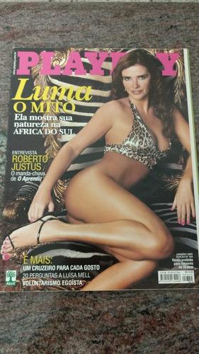 revista playboy luma de oliveira janeiro 2005