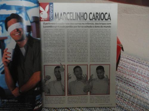 revista playboy - luma de oliveira -  maio 2001