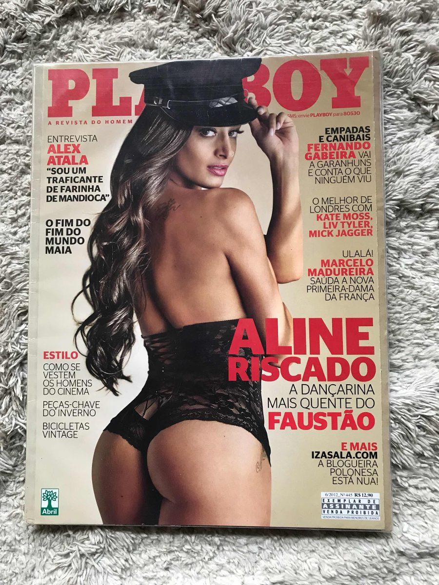Aline Riscado Playboy revista playboy n 445 - aline riscado - junho 2012