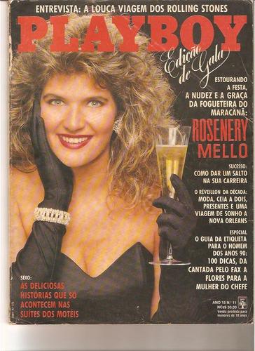 revista playboy - rosenery mello