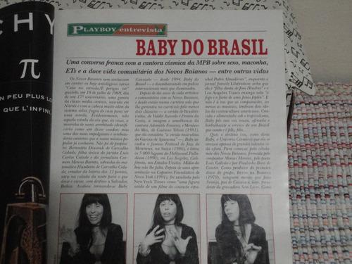 revista playboy - vanessa lombardi -  junho 1999