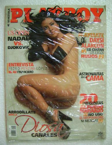 revista playboy venezuela año 6/n°8 - diosa canales