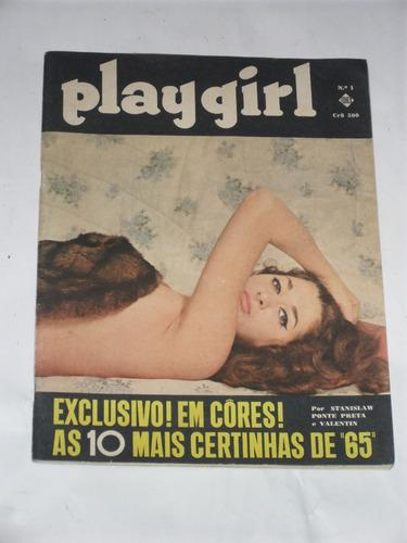 revista playgirl ano 1965 numero 1