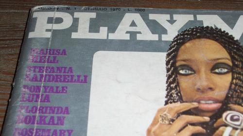 revista playmen italiana gennaio 1970 penthouse playboy usa