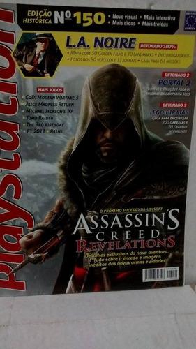 revista playstation assassins creed revelations