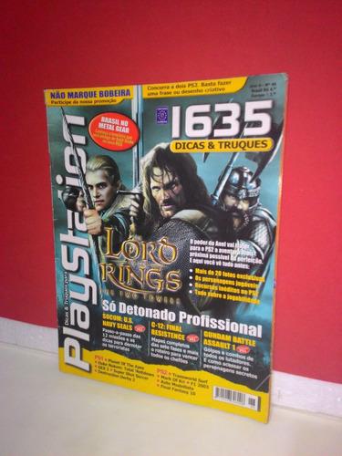 revista playstation dicas e truques # 46 ano 4- equipe fj