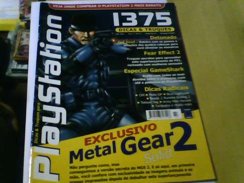revista playstation n°27 evil dead fear effect 2