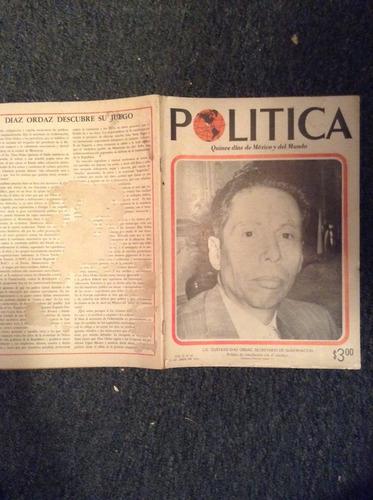 revista politica año 1962