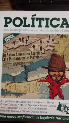 revista politica  edicion especial malvinas - del sur