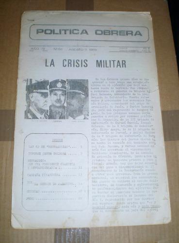 revista politica obrera numero 56 1969