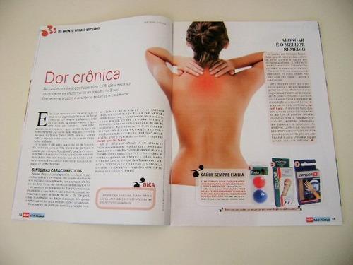 revista ponto de encontro/ ana maria braga /dor costas/birra
