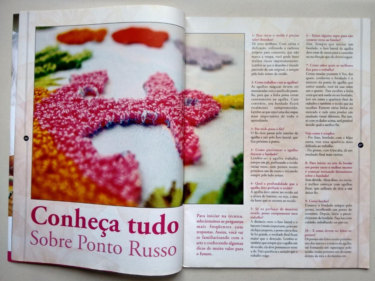 Revista Ponto Russo 15 Dicas E Tecnicas Bordados B671 R 27 90