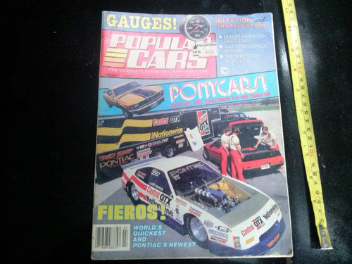 revista popular cars julio 1986 reportaje 1967 ford falcon