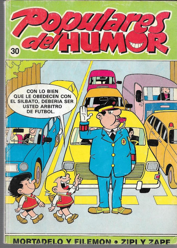 revista populares del humor n° 30 mortadelo y filemon 1988