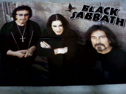 revista poster black sabbath nº10 arrasador
