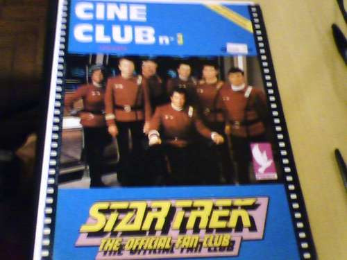 revista poster cine club n°3 startrek ed. phenix