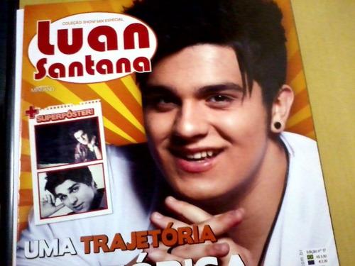 revista poster luan santana nº17