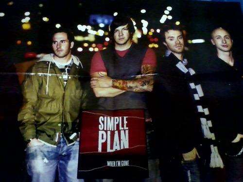 revista poster simple plan nº08