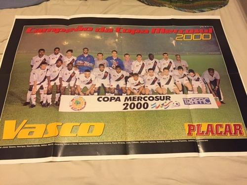 revista poster - vasco campeão copa mercosul 2000