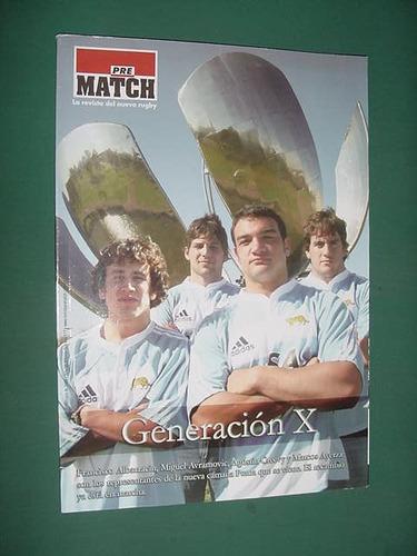 revista pre match 117 rugby albarracin avramovic creevy ayer