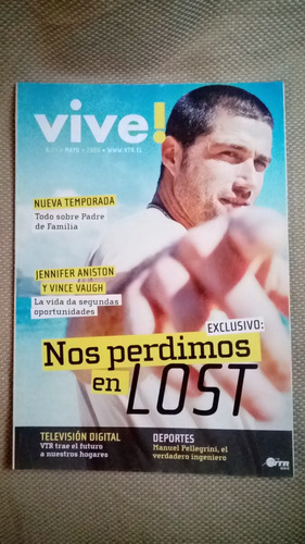 revista programación tv cable vive lost abril 2005 chile