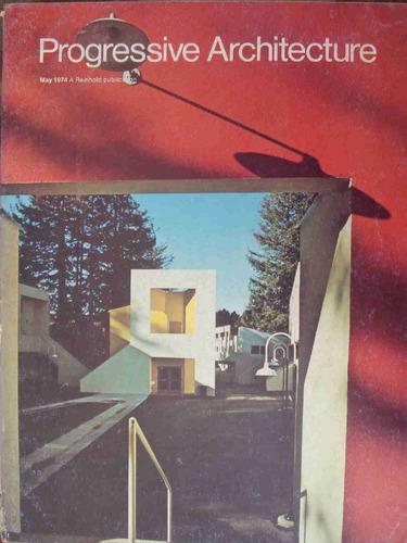 revista progressive architecture may 1974