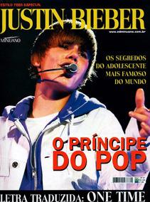 94594799c Revista Poster Justin Bieber Coleção Vida Teen Especial 03 - Coleções e  Comics no Mercado Livre Brasil