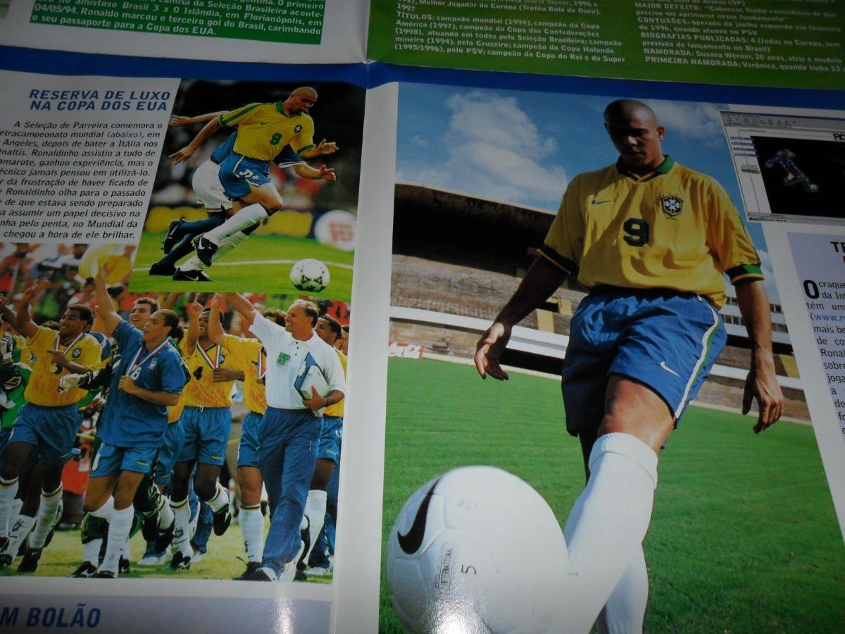 b944620114 Revista Pôster - Raça (edição Extra) Março 98 - Ronaldo Fenô - R ...