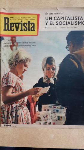 revista, publicación de república democrática alemana 1964