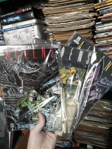 revista quadrinhos aliens o resgate ripley coleção completa