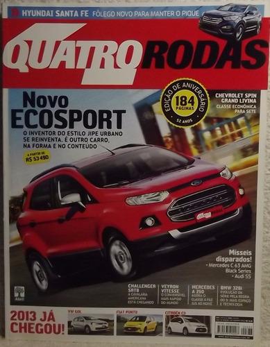 revista quatro rodas 633 ago/12 - ecosport santa-fé spin (a)