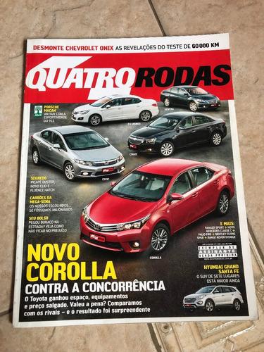 revista quatro rodas 655 novo corolla santa fe renegade