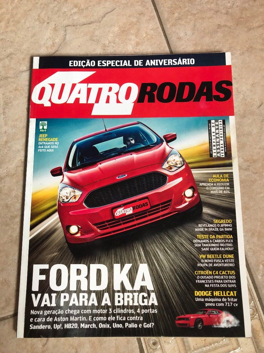 Revista Quatro Rodas  Ford Ka Rs Q Onix March Novo Palio Carregando Zoom
