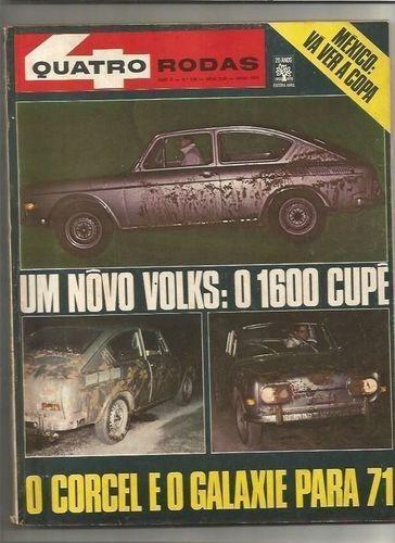 revista quatro rodas ano ano x nº 118