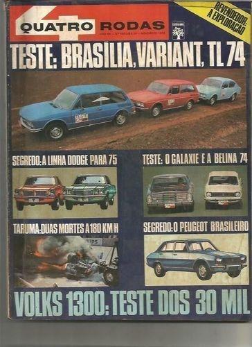 revista quatro rodas ano ano xiv nº 160