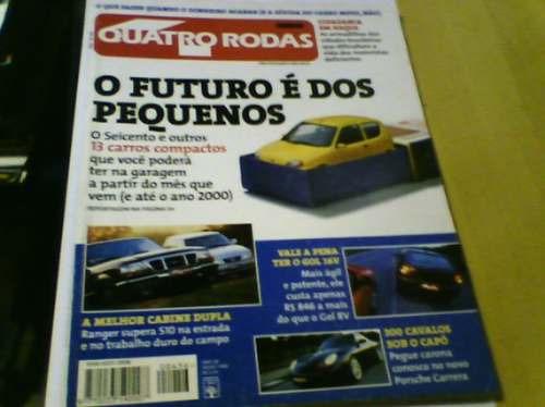 revista quatro rodas n°456 1998 pequenos