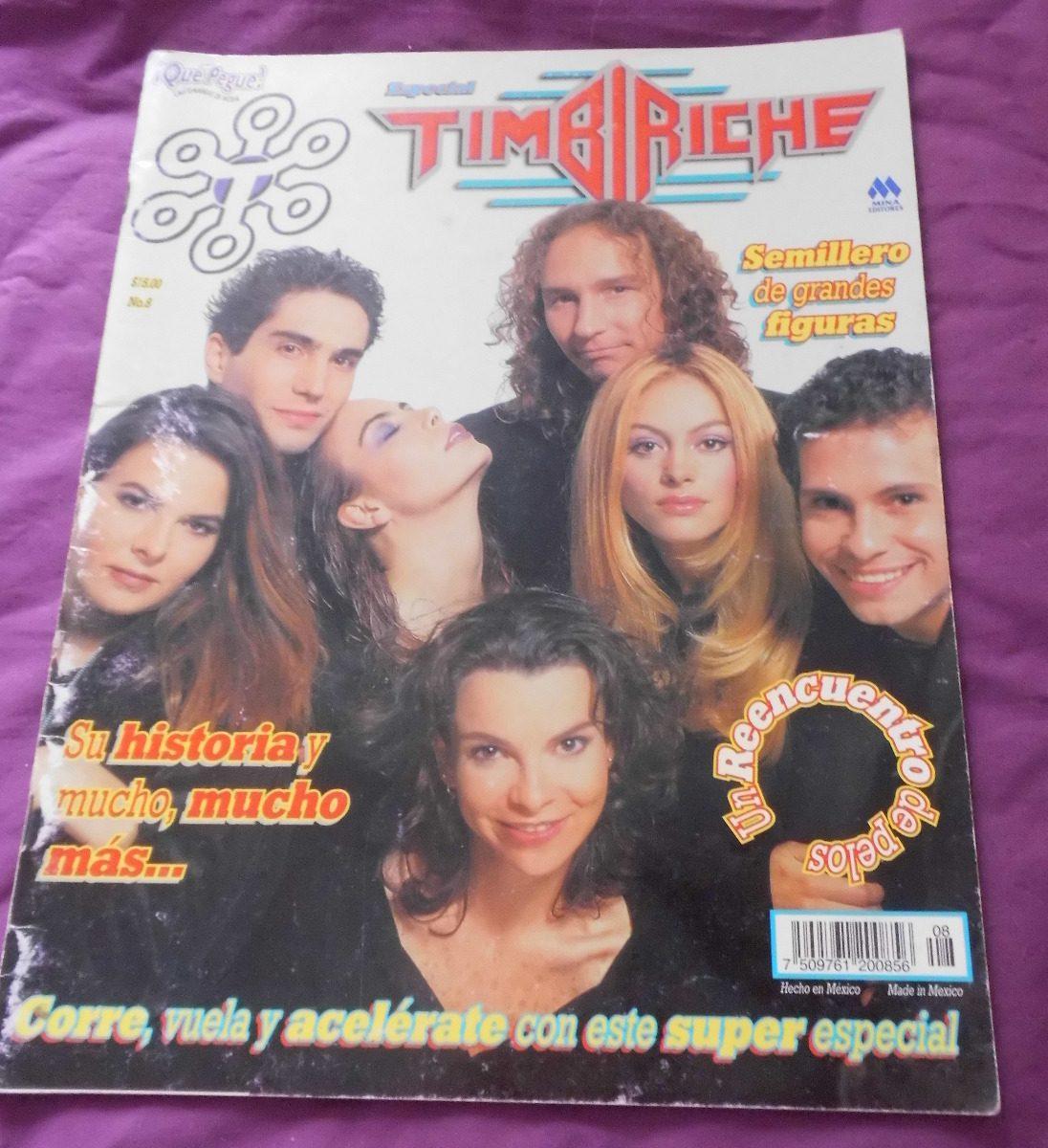 Revista Que Pegue Timbiriche Sasha Sokol Benny Paulina Rubio S 40