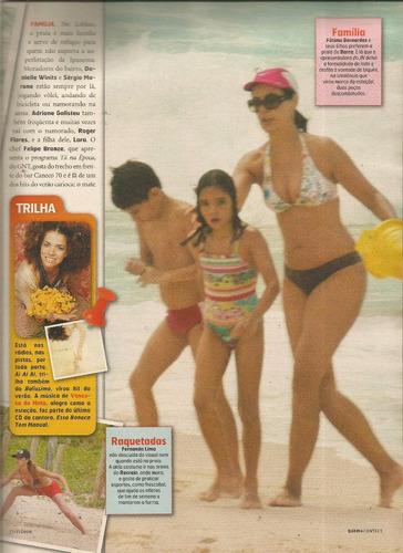 revista quem 284/2006 - juliana/nívea maria/moscovis