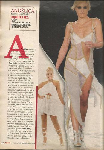 revista quem 312/2006 - angélica/gretchen/carla perez