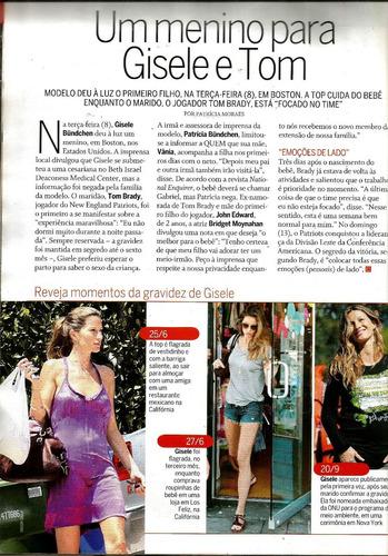 revista quem 484/2009 - xuxa/angélica/gisele/sandy/madonna