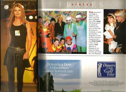 revista quem 52/2001 - gianecchini/xuxa/angélica/gal costa