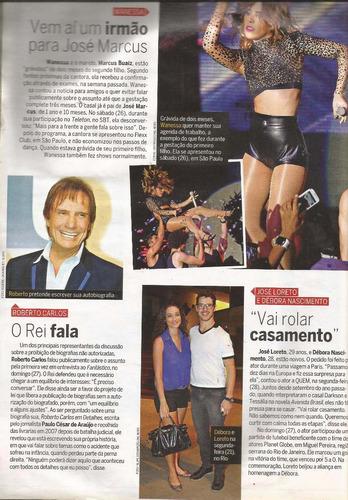 revista quem 686/2013 - renata/izabel/isabelli/angélica