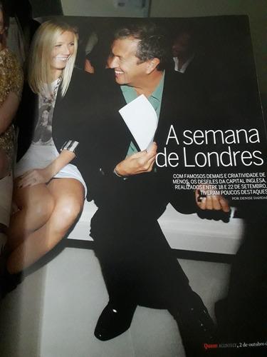 revista quem n°473 - dado dolabella, camila pitanga