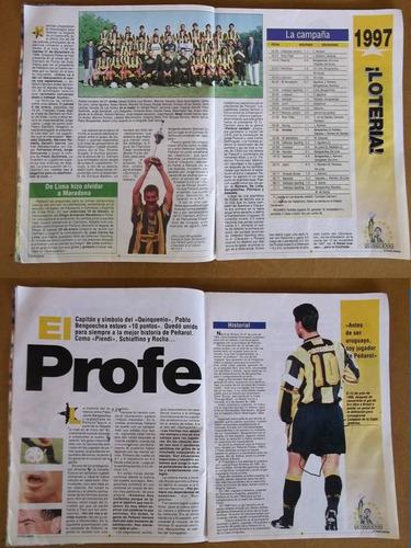 revista quinquenio peñarol- fútbol uruguayo- 44 págs.