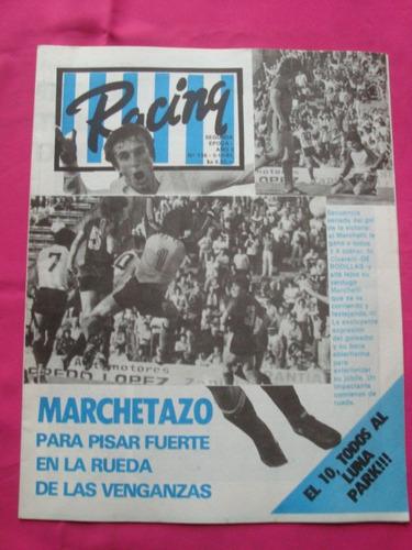 revista racing n° 136 año 1983 - racing vs newell´s old boys