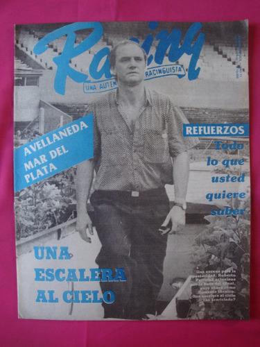 revista racing n° 516 año 1991 llegan los refuerzos