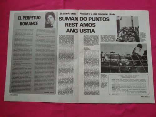 revista racing racing