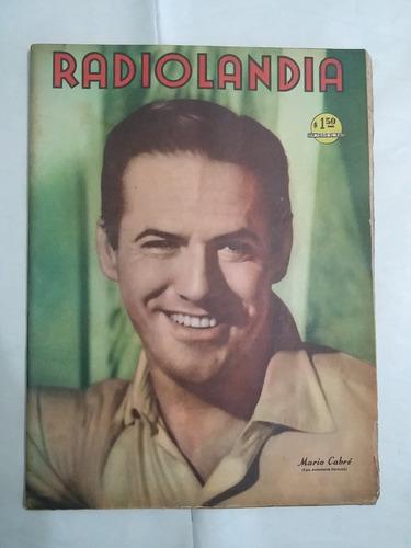 revista radiolandia 1429 mario cabre 3 septiembre 1955