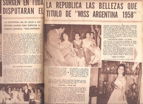 revista radiolandia 1545 - calvo presley miss lousex  canje