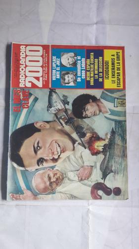 revista radiolandia 2000 nro 2812 malvinas gardel maradona